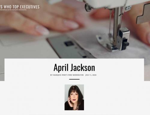 Marquis Who's Who Top Executives – April Jackson